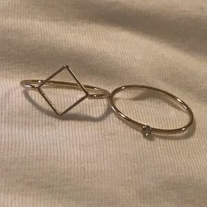 Jewelry - cute and simple rings
